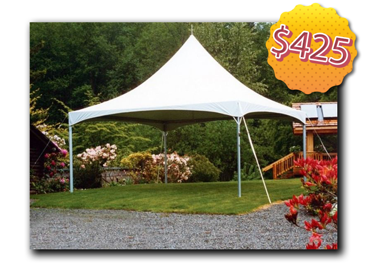 $425 Tent Package  sc 1 th 193 & Adventure Party Rentals